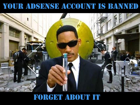 adsense account banned
