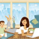 Keep Your Child from Troubling You – 6 Tips for Working from Home Parents