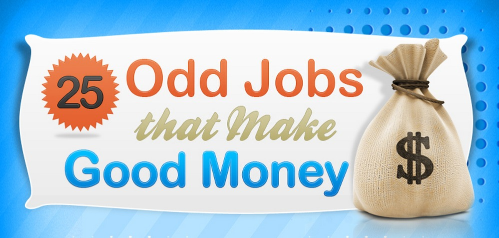 25 Odd Jobs that Can Make You Good Money