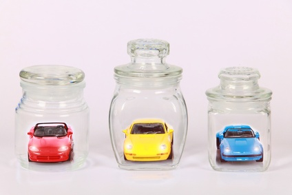 Bussiness concept  car for gift