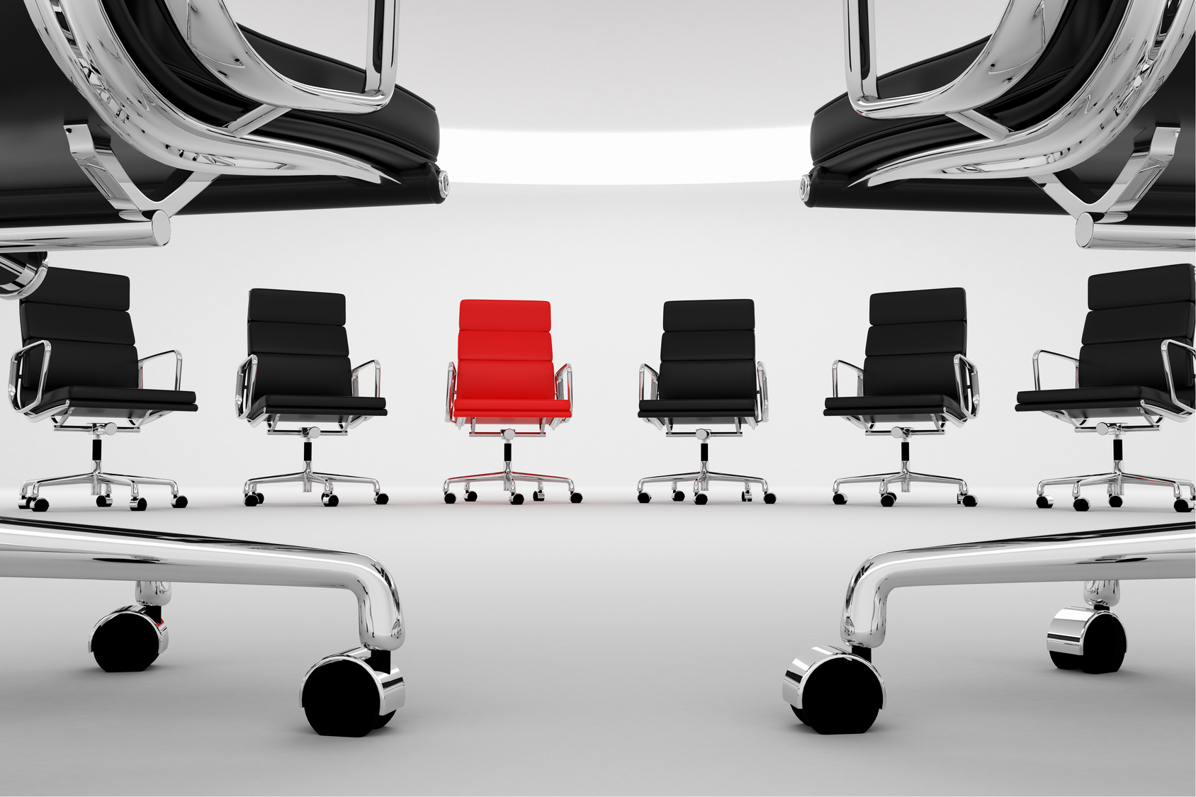 Office chairs.