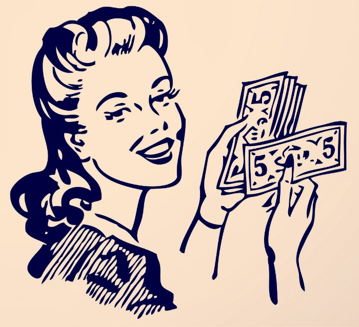 retro-lady-with-money