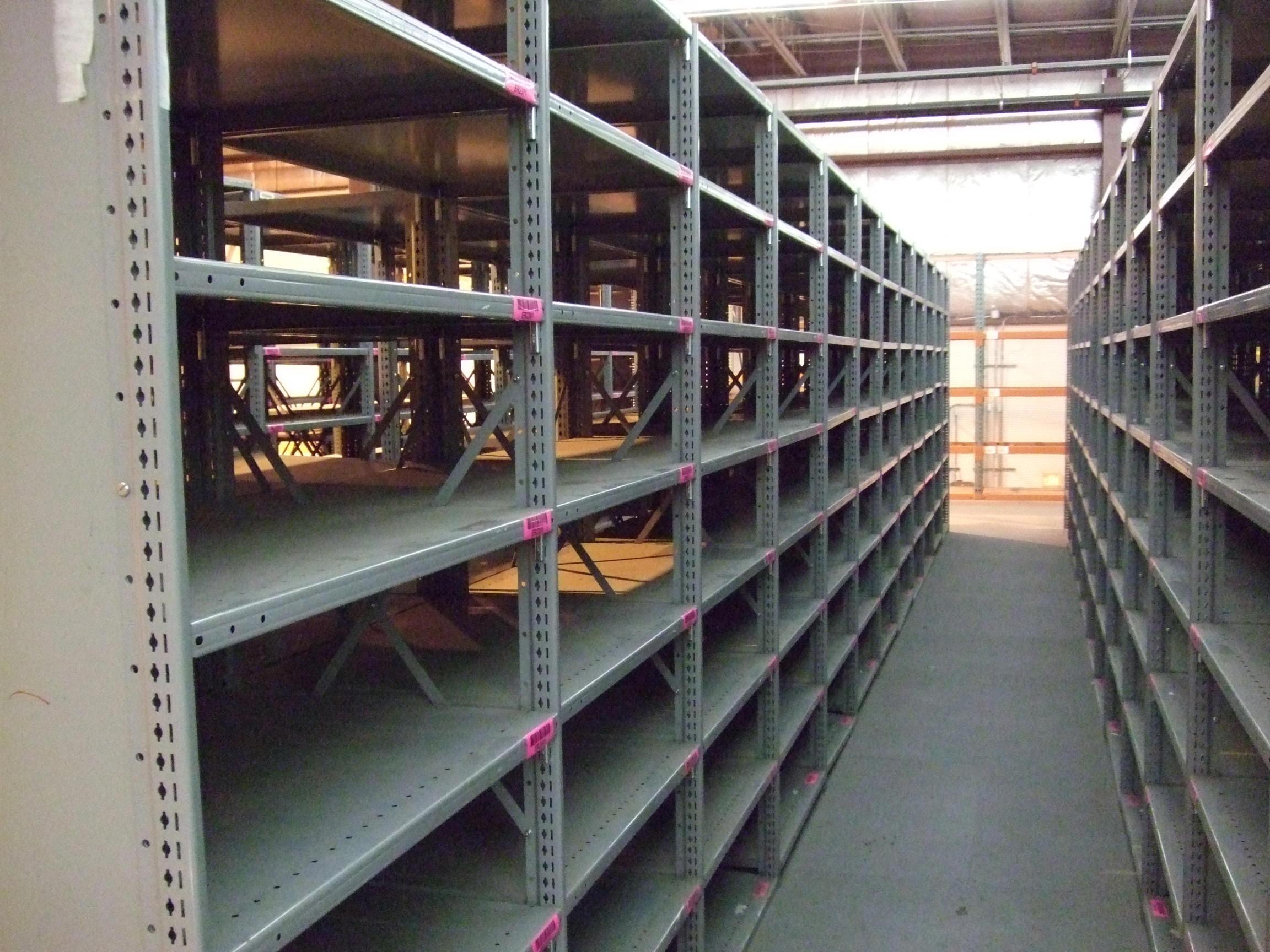 used-steel-shelving