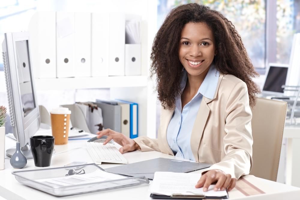 single-woman-at-work