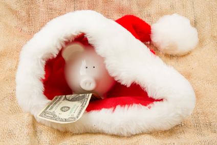saving money for winter piggy bank