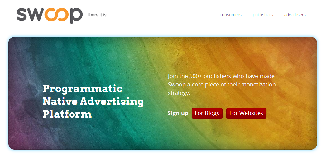 Swoop   Native Advertising Platform