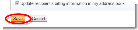 Recipient information - PayPal (1)