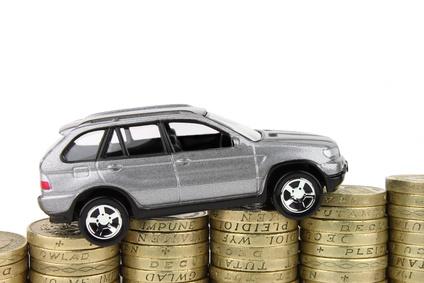 Car On Coins