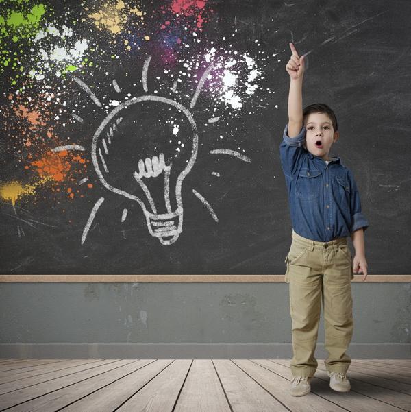 Idea of a happy child