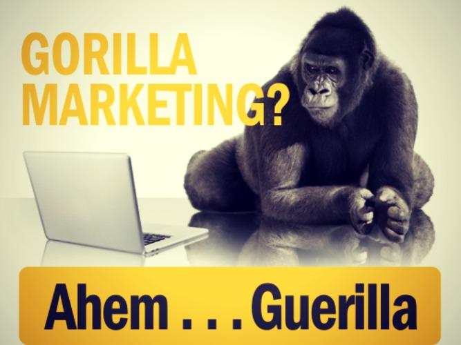 Gorilla-Marketing
