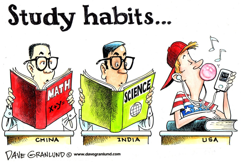 study habits thesis If you're a student, this might mean thinking about your study habits here are  some suggestions to help you learn as efficiently as possible.