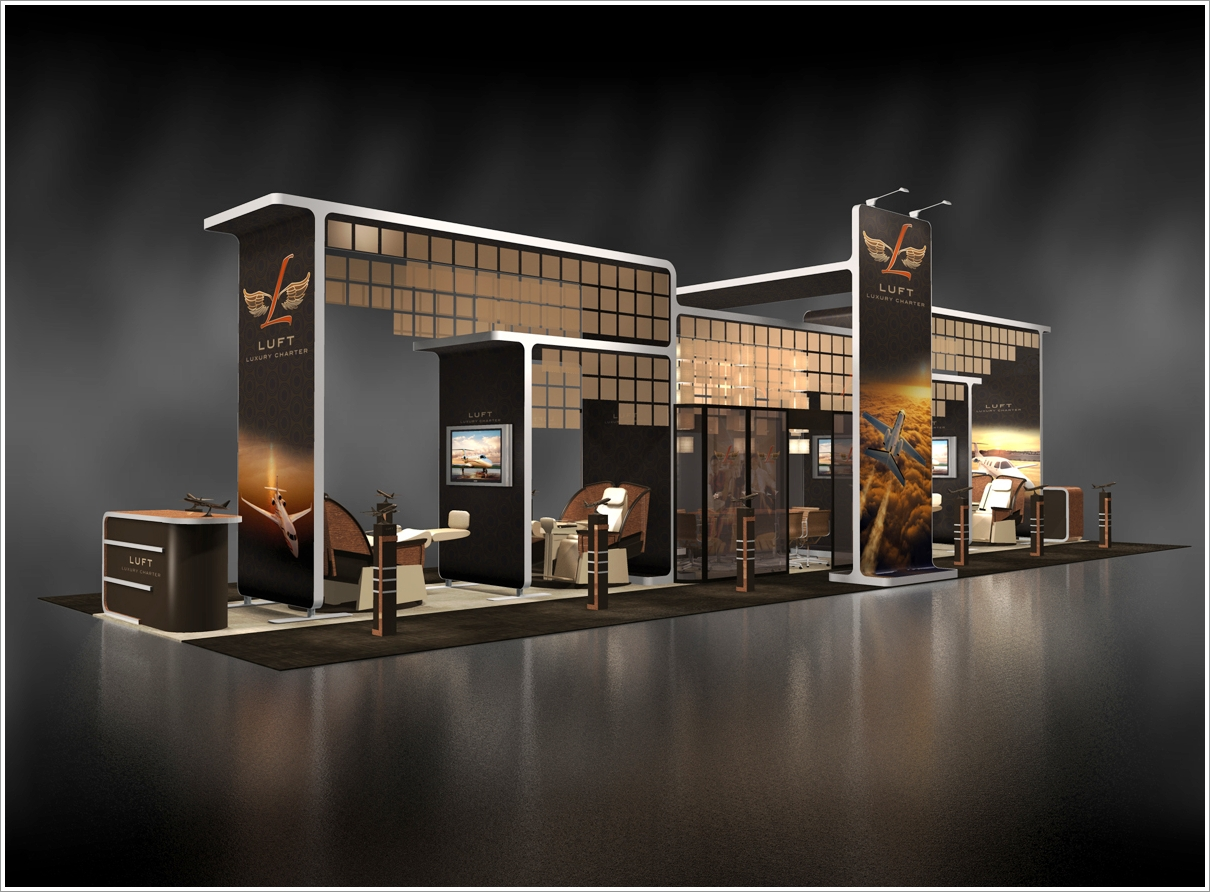 Exhibition Booth Design D : Ways to make your trade show exhibition stand the best